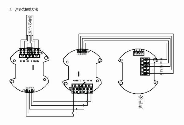 语音组合防爆声光报警器aex-21  外形尺寸: 型号及参数对照表: 接线图