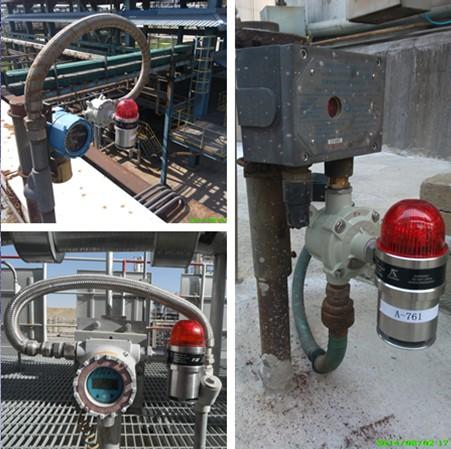 大多数气体检测仪都没有加装声光报警器